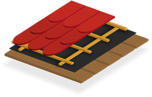 plain roof